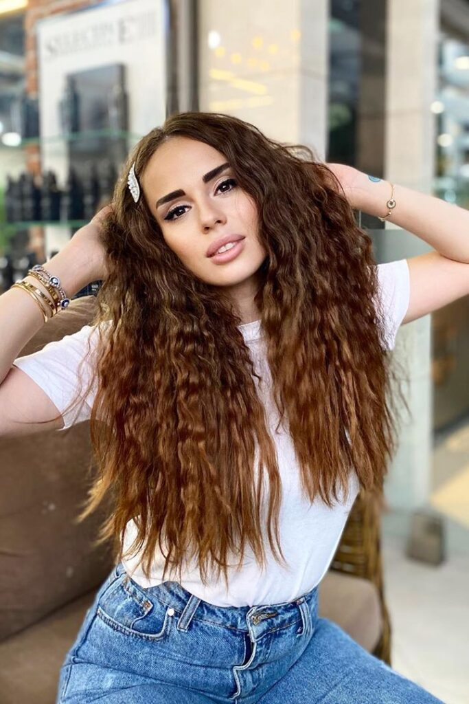 making curly hairstyle without using heat