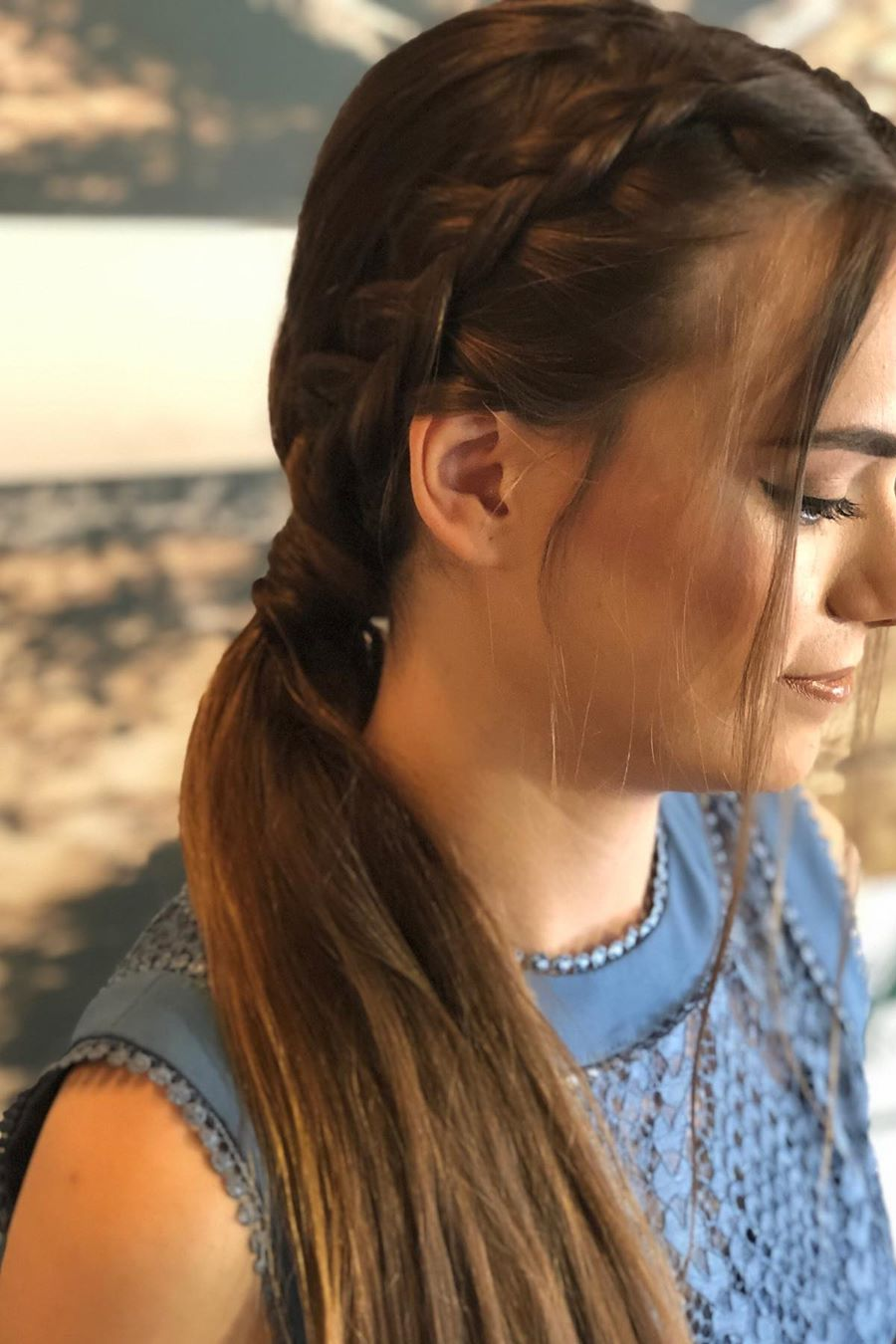 low Ponytail Hairstyle