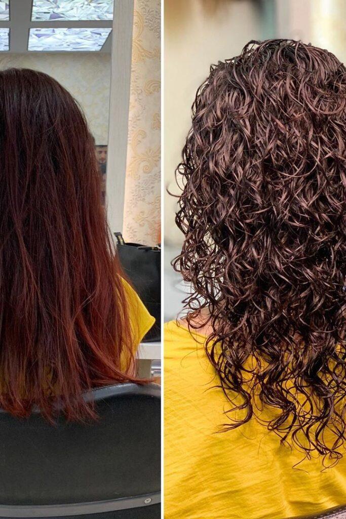 curly hair models