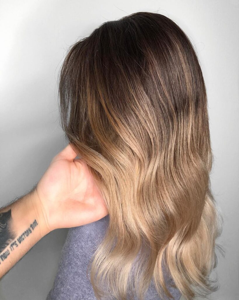 Almond Hair Color