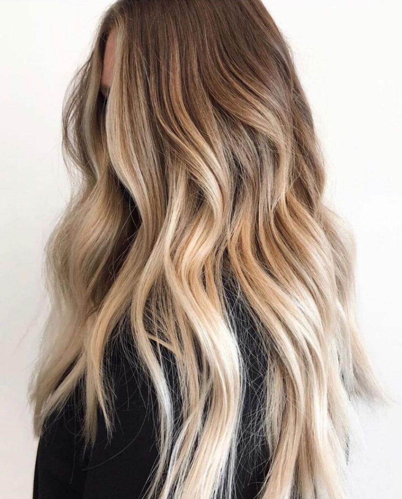 Almond Hair Colors