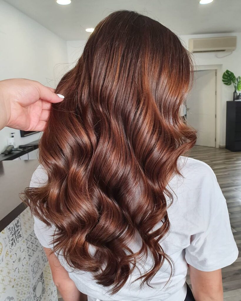 Bitter Chocolate Hair Color 2020