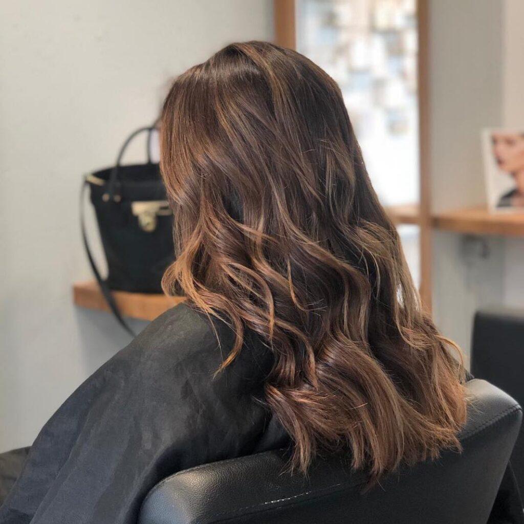 Bitter Chocolate Hair Color Ideas