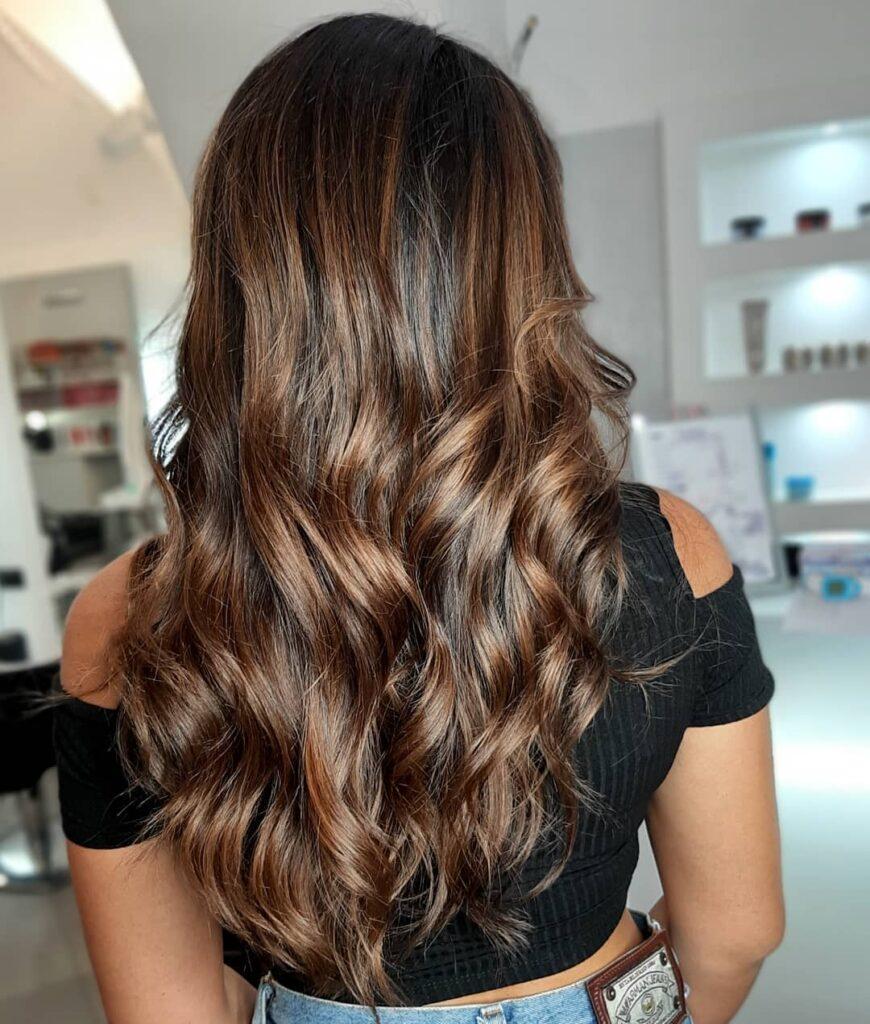 Bitter Chocolate Hair Color Ideas 2020