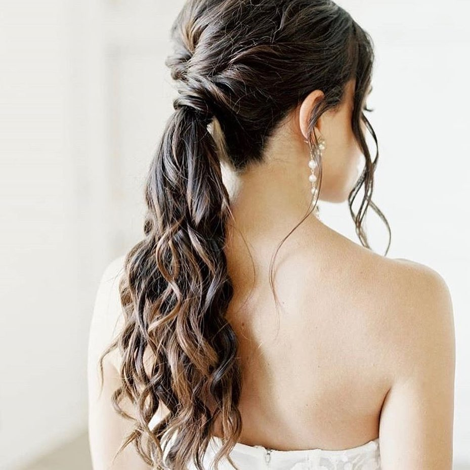 Bridal Hairstyles for Ponytail Hairstyles