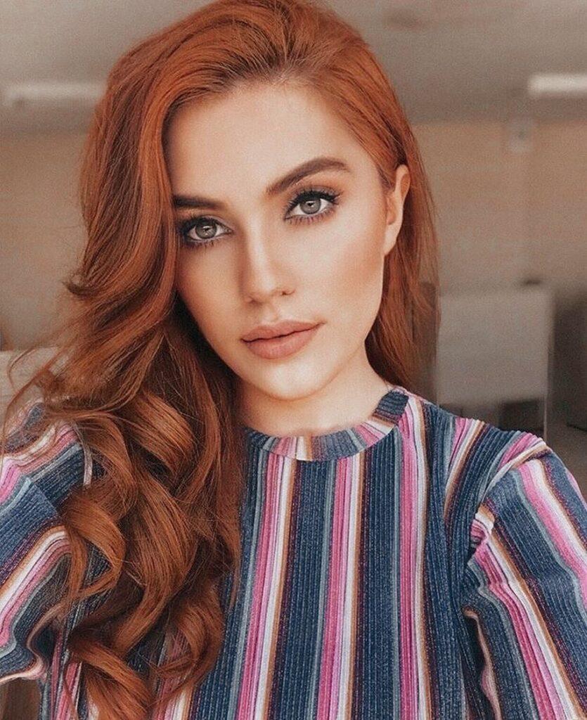 Cinnamon Copper Hairstyles