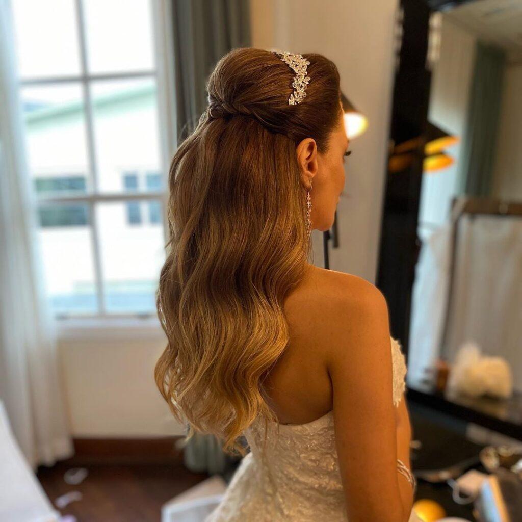 Long Bridal Hair Models