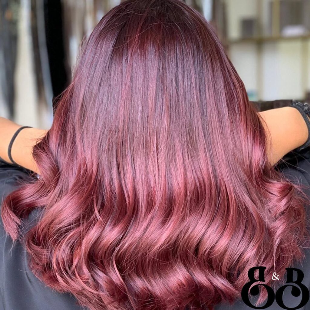 Wine Red Hair Colors